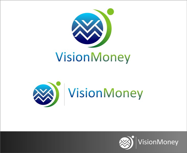 Logo Design by Mhon_Rose - Entry No. 9 in the Logo Design Contest Captivating Logo Design for VISION MONEY.