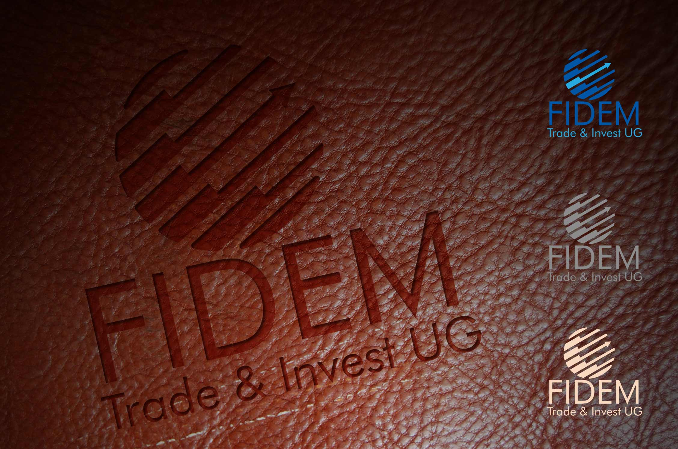 Logo Design by lagalag - Entry No. 634 in the Logo Design Contest Professional Logo Design for FIDEM Trade & Invest UG.
