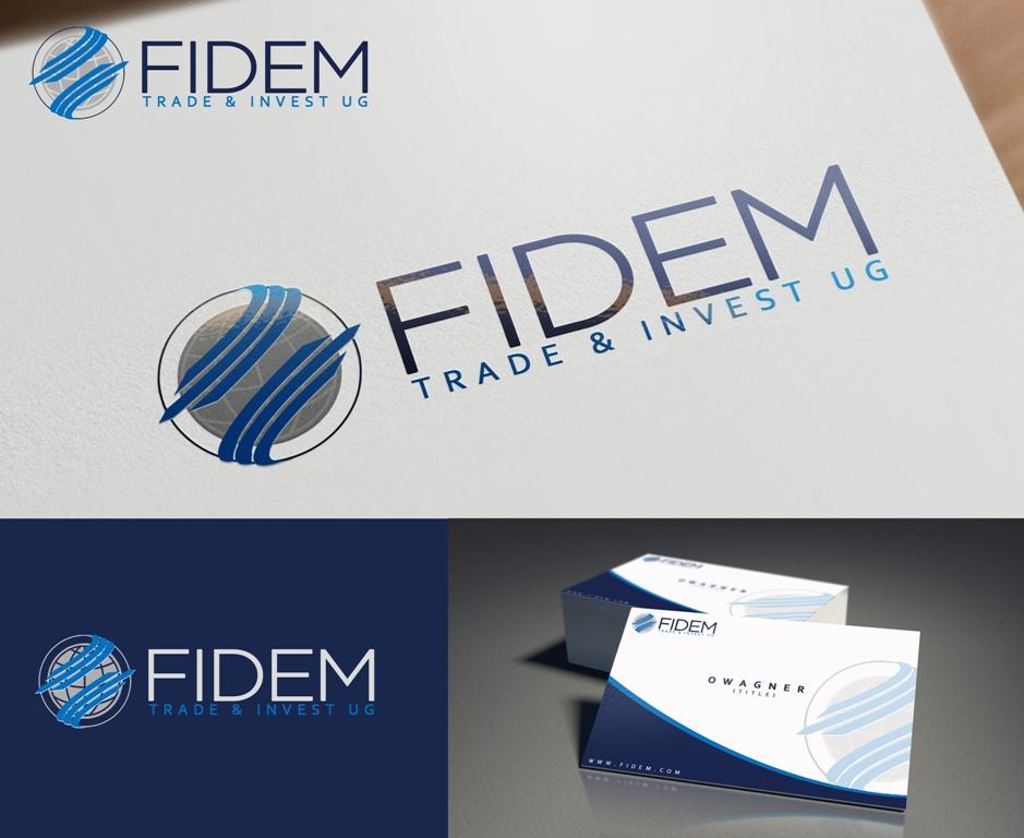 Logo Design by Juan_Kata - Entry No. 639 in the Logo Design Contest Professional Logo Design for FIDEM Trade & Invest UG.