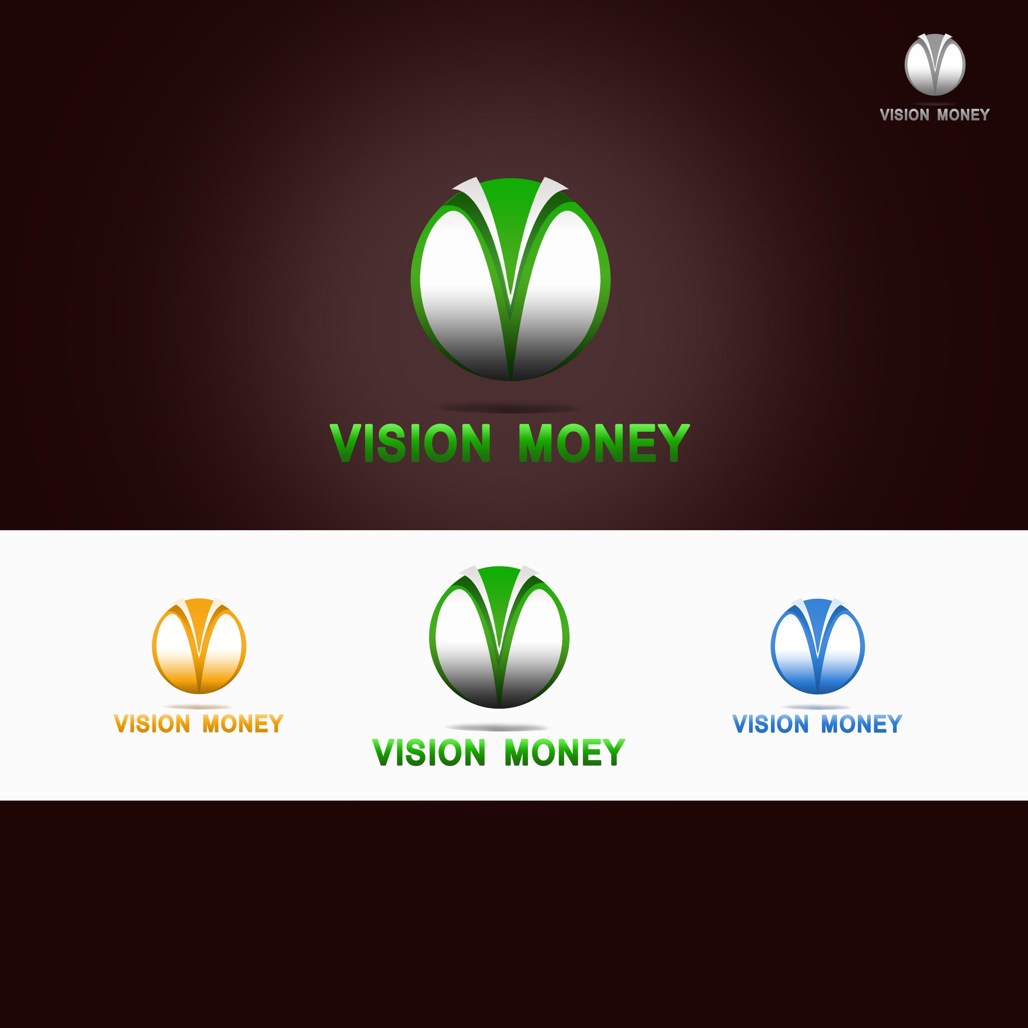 Logo Design by Allan Esclamado - Entry No. 10 in the Logo Design Contest Captivating Logo Design for VISION MONEY.