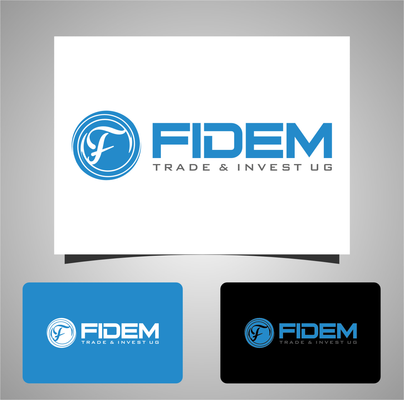 Logo Design by RasYa Muhammad Athaya - Entry No. 655 in the Logo Design Contest Professional Logo Design for FIDEM Trade & Invest UG.