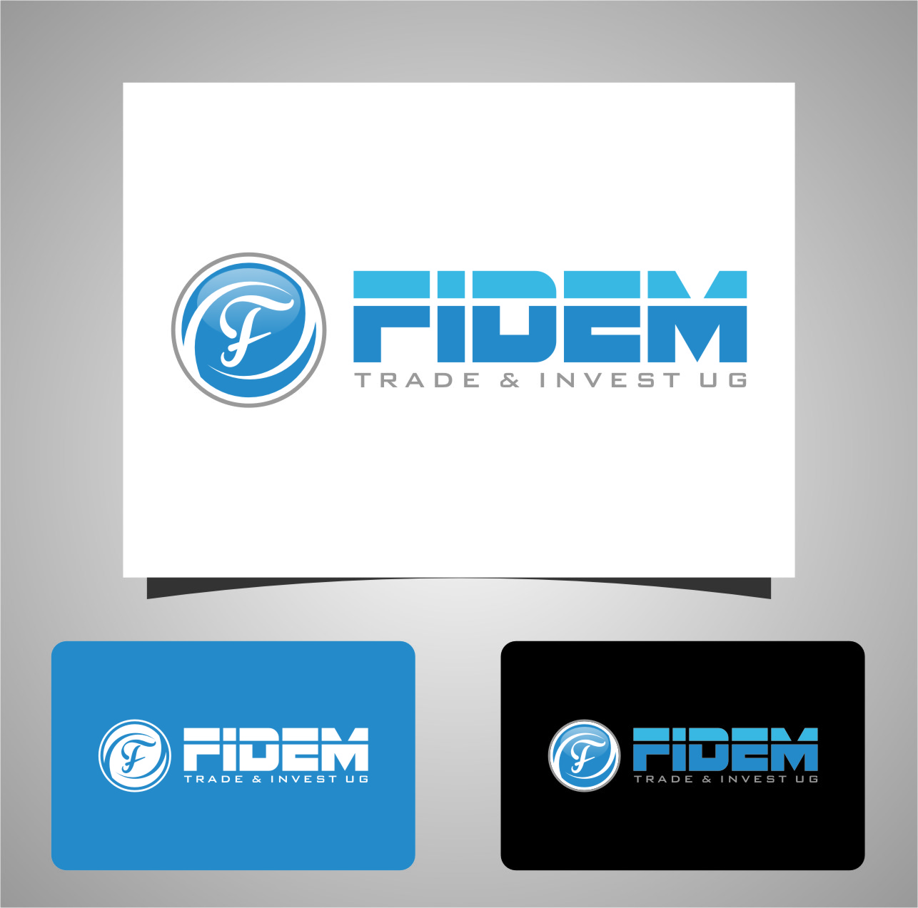 Logo Design by RasYa Muhammad Athaya - Entry No. 656 in the Logo Design Contest Professional Logo Design for FIDEM Trade & Invest UG.