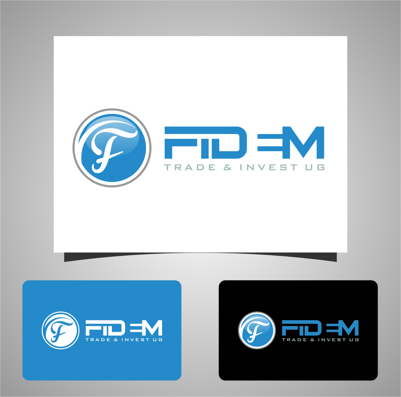Logo Design by Ngepet_art - Entry No. 662 in the Logo Design Contest Professional Logo Design for FIDEM Trade & Invest UG.