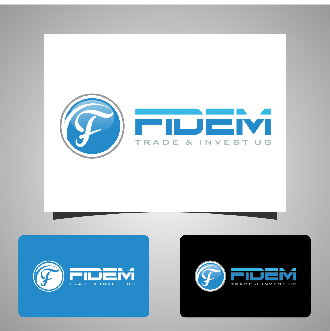 Logo Design by RasYa Muhammad Athaya - Entry No. 664 in the Logo Design Contest Professional Logo Design for FIDEM Trade & Invest UG.