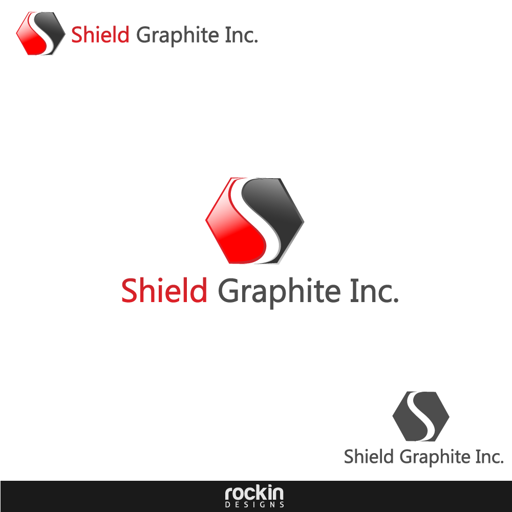Logo Design by rockin - Entry No. 107 in the Logo Design Contest Imaginative Logo Design for Shield Graphite Inc..