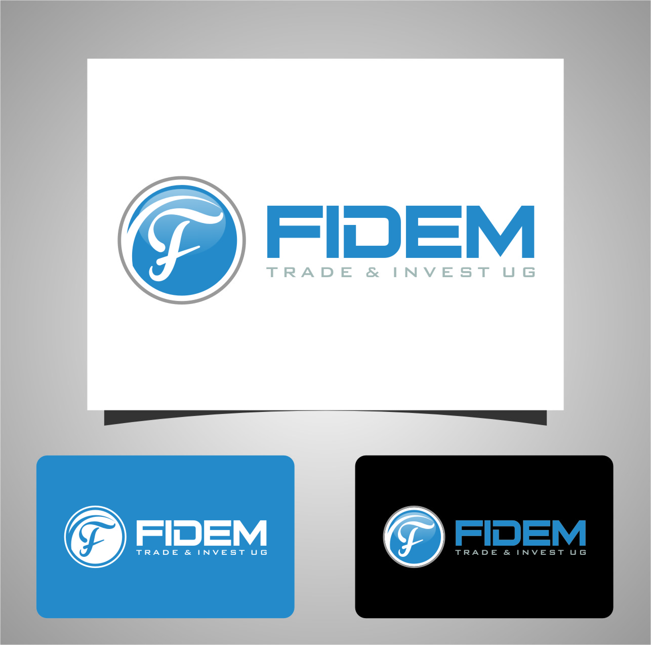 Logo Design by Ngepet_art - Entry No. 666 in the Logo Design Contest Professional Logo Design for FIDEM Trade & Invest UG.