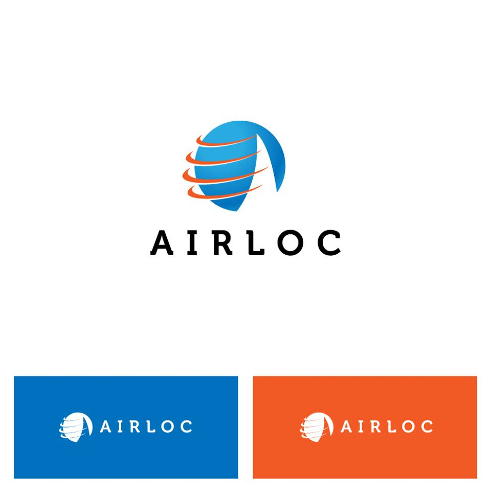 Logo Design by chinie05 - Entry No. 41 in the Logo Design Contest Airloc Logo Design.