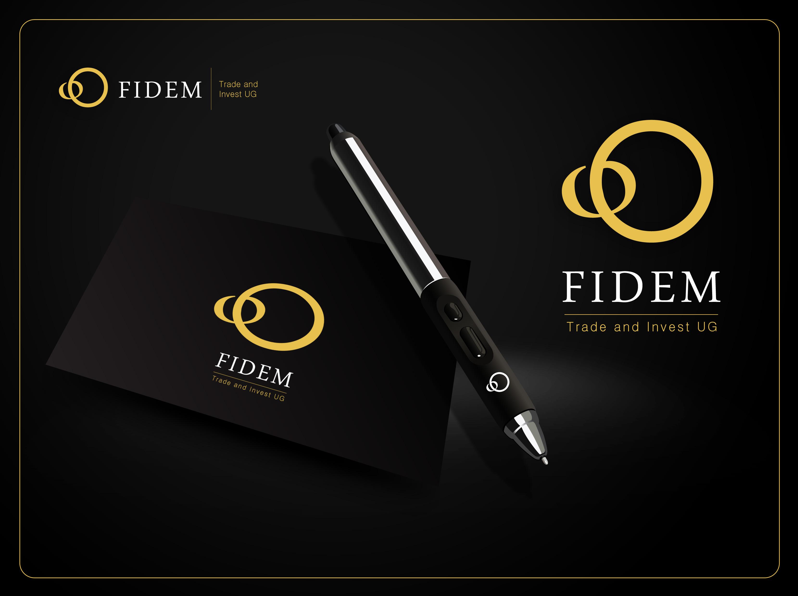 Logo Design by Mark Anthony Moreto Jordan - Entry No. 672 in the Logo Design Contest Professional Logo Design for FIDEM Trade & Invest UG.