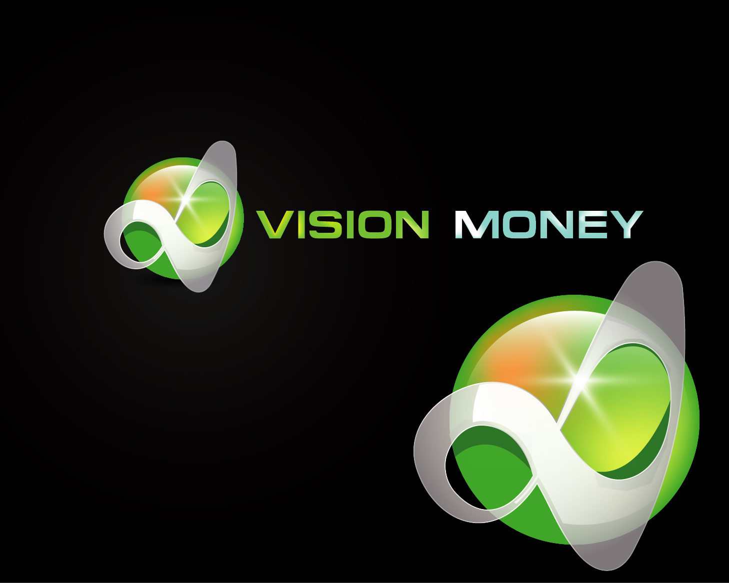 Logo Design by VENTSISLAV KOVACHEV - Entry No. 12 in the Logo Design Contest Captivating Logo Design for VISION MONEY.