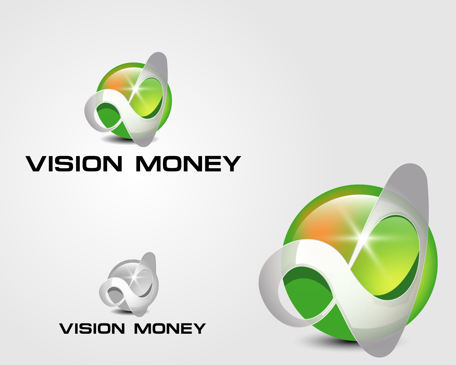 Logo Design by VENTSISLAV KOVACHEV - Entry No. 13 in the Logo Design Contest Captivating Logo Design for VISION MONEY.