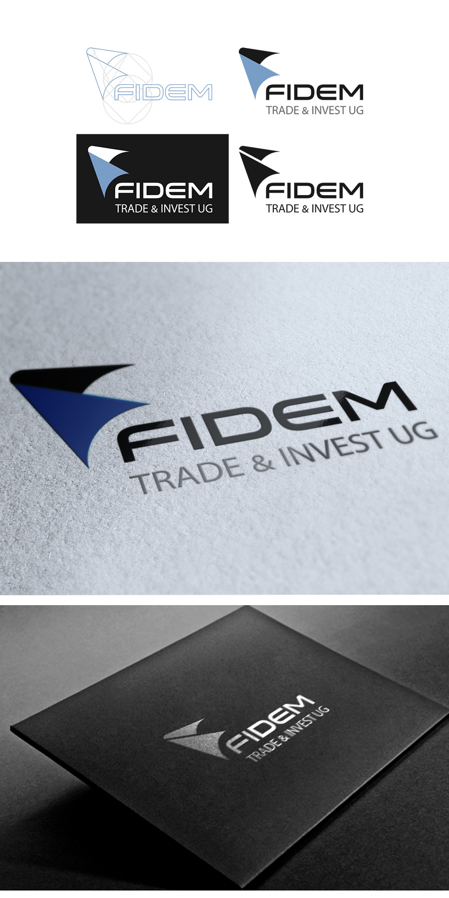 Logo Design by Jorge Sardon - Entry No. 679 in the Logo Design Contest Professional Logo Design for FIDEM Trade & Invest UG.