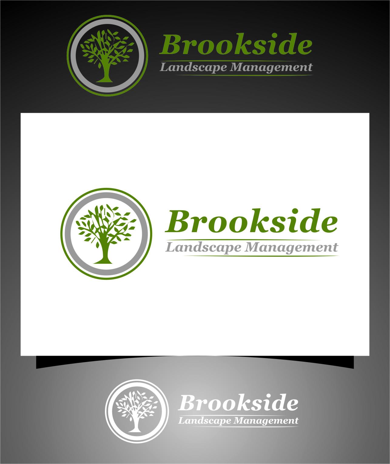 Logo Design by RasYa Muhammad Athaya - Entry No. 164 in the Logo Design Contest New Logo Design for Brookside Landscape Management.