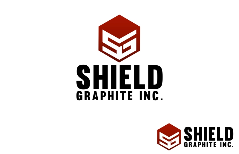 Logo Design by Juan_Kata - Entry No. 113 in the Logo Design Contest Imaginative Logo Design for Shield Graphite Inc..