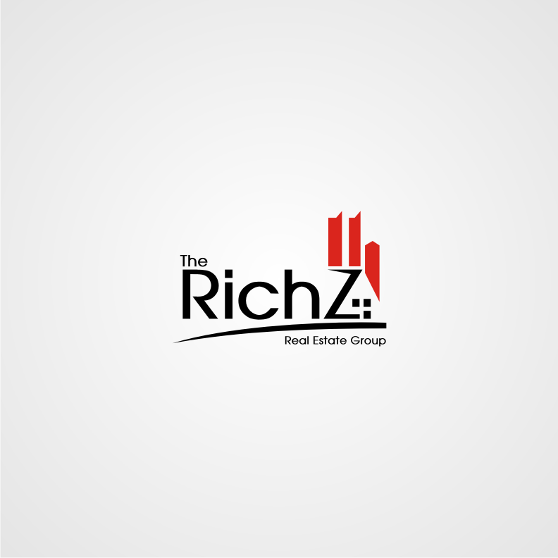 Logo Design by graphicleaf - Entry No. 91 in the Logo Design Contest The Rich Z. Real Estate Group Logo Design.
