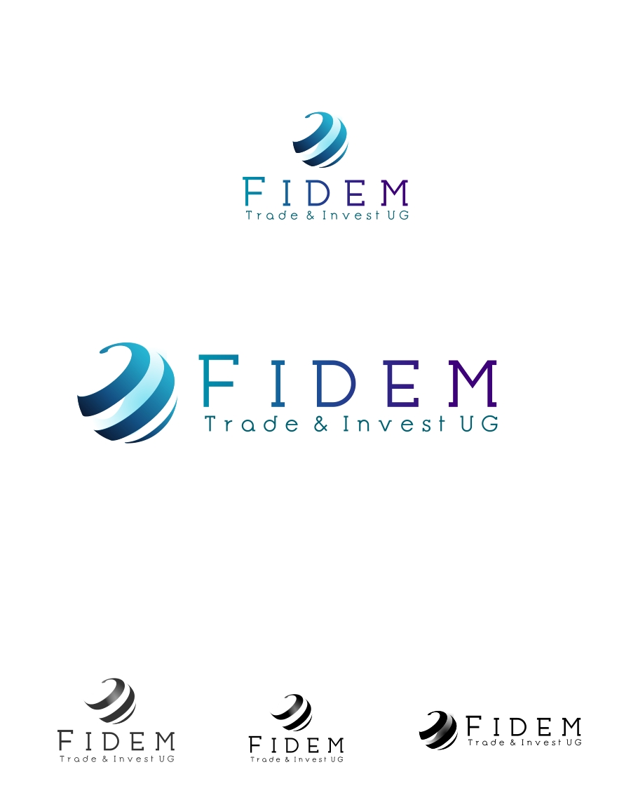 Logo Design by Private User - Entry No. 685 in the Logo Design Contest Professional Logo Design for FIDEM Trade & Invest UG.