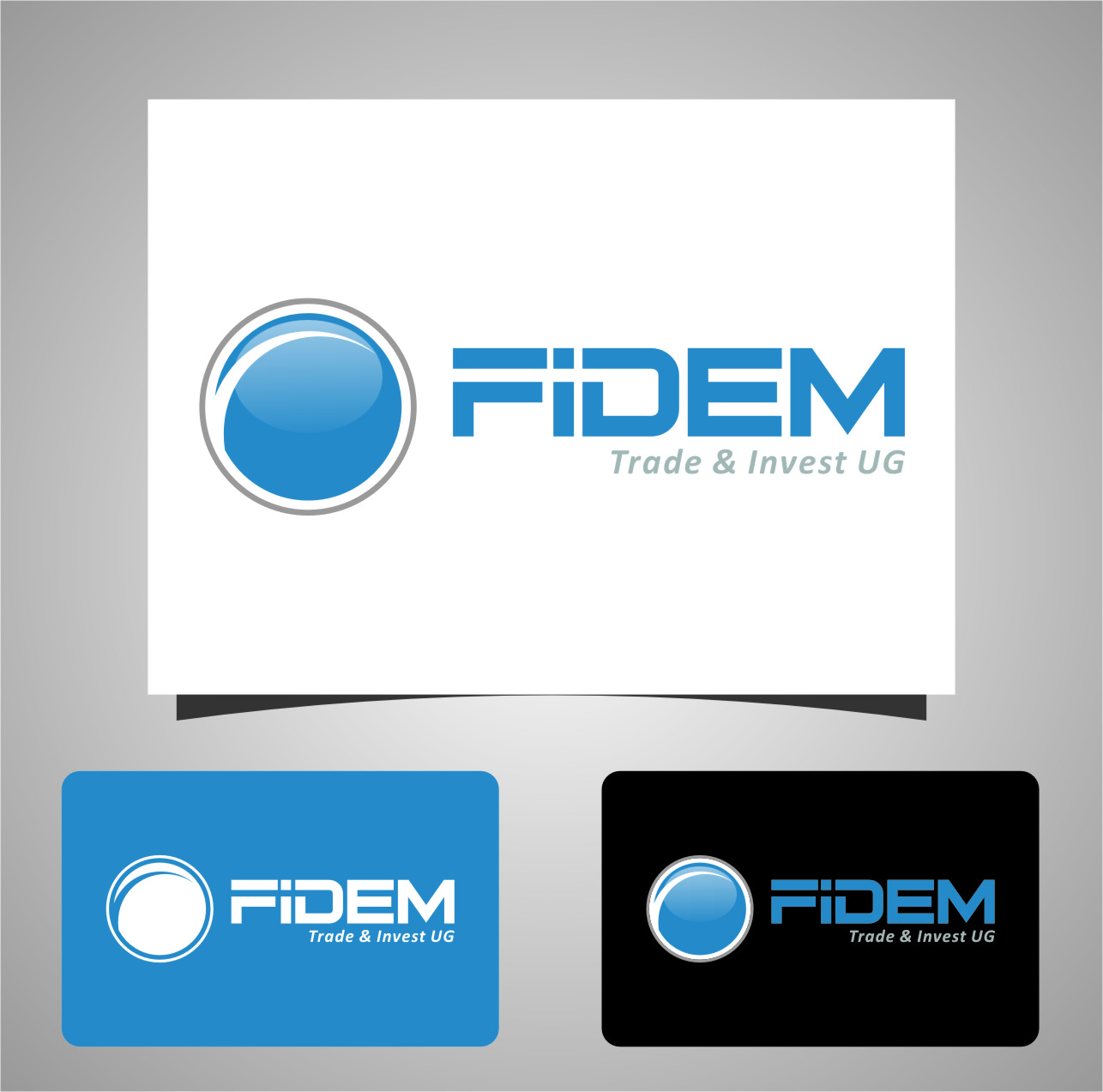 Logo Design by RasYa Muhammad Athaya - Entry No. 686 in the Logo Design Contest Professional Logo Design for FIDEM Trade & Invest UG.