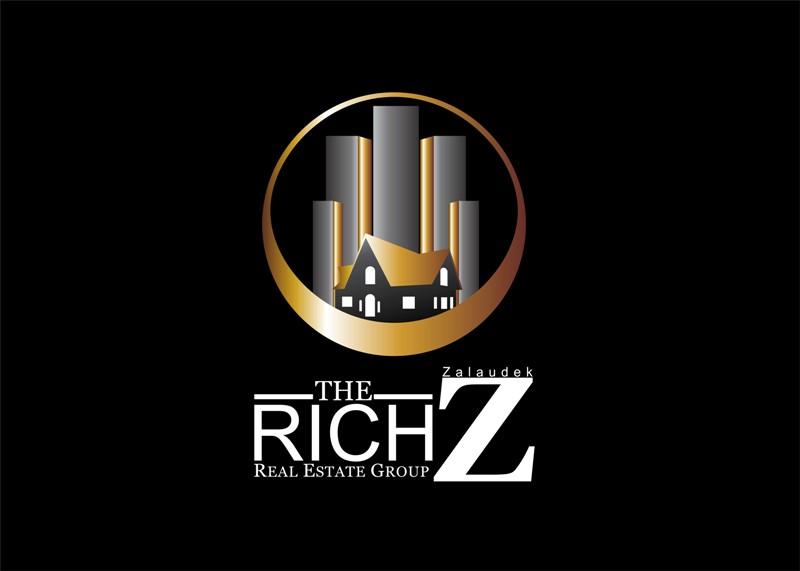 Logo Design by Crispin Jr Vasquez - Entry No. 92 in the Logo Design Contest The Rich Z. Real Estate Group Logo Design.