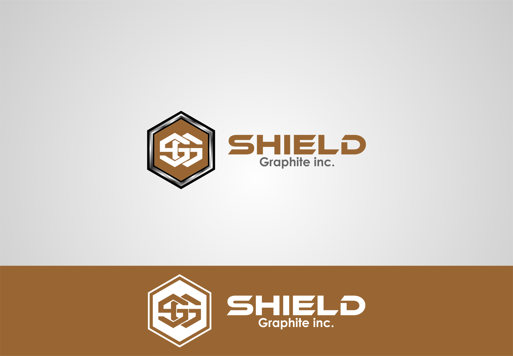 Logo Design by Agus Martoyo - Entry No. 114 in the Logo Design Contest Imaginative Logo Design for Shield Graphite Inc..
