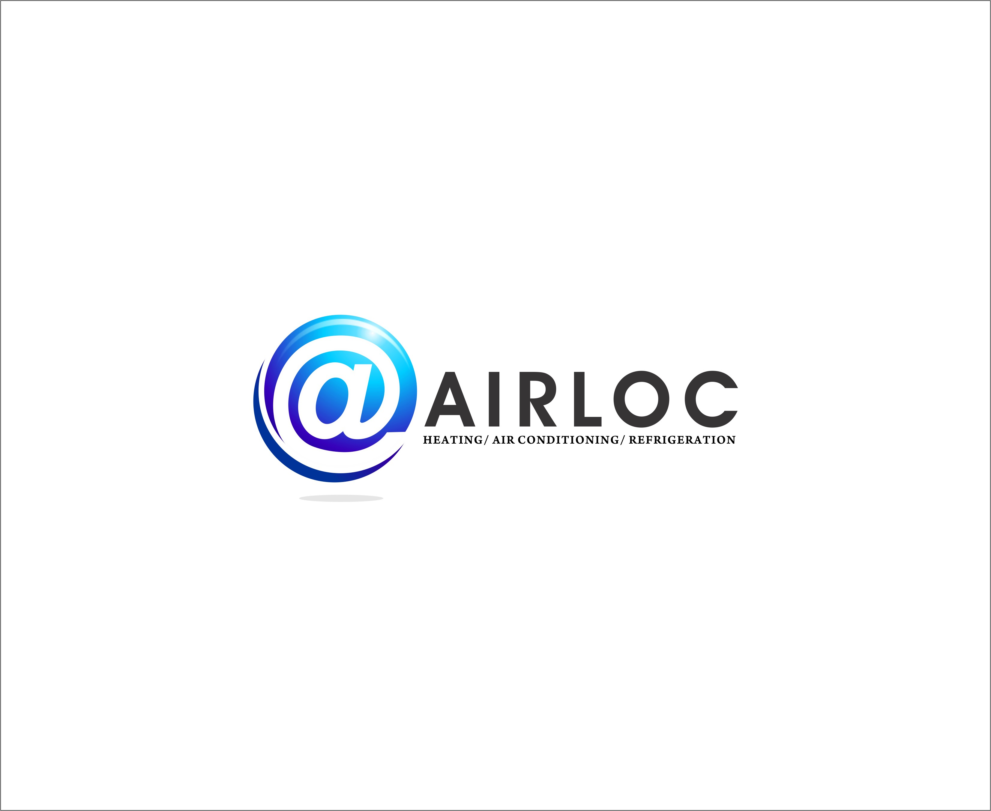 Logo Design by Mhon_Rose - Entry No. 47 in the Logo Design Contest Airloc Logo Design.