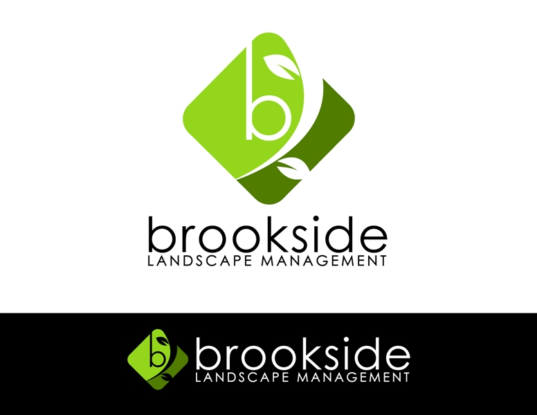 Logo Design by Juan_Kata - Entry No. 166 in the Logo Design Contest New Logo Design for Brookside Landscape Management.