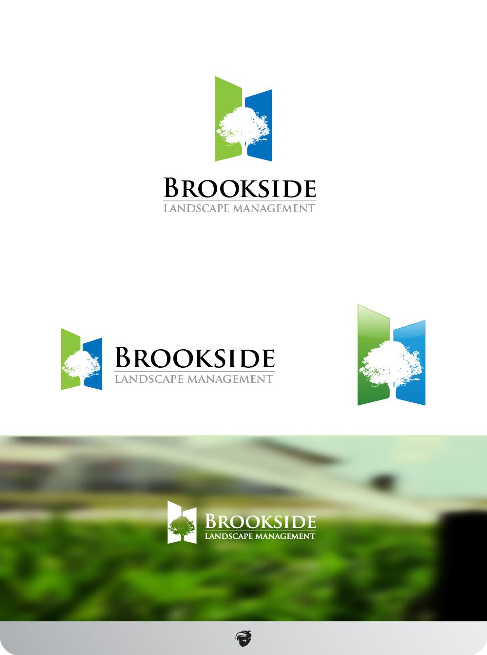 Logo Design by zesthar - Entry No. 170 in the Logo Design Contest New Logo Design for Brookside Landscape Management.