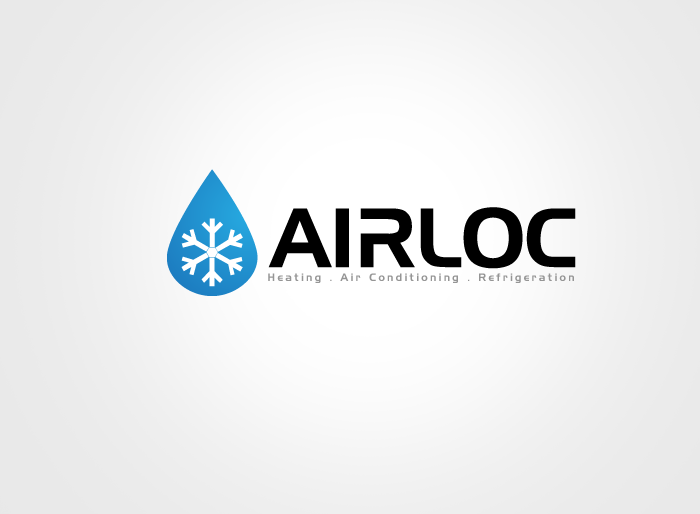 Logo Design by Jan Chua - Entry No. 53 in the Logo Design Contest Airloc Logo Design.