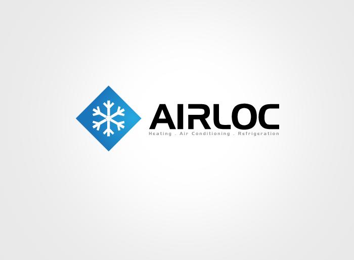 Logo Design by Jan Chua - Entry No. 54 in the Logo Design Contest Airloc Logo Design.