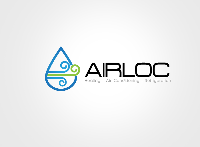 Logo Design by Jan Chua - Entry No. 56 in the Logo Design Contest Airloc Logo Design.