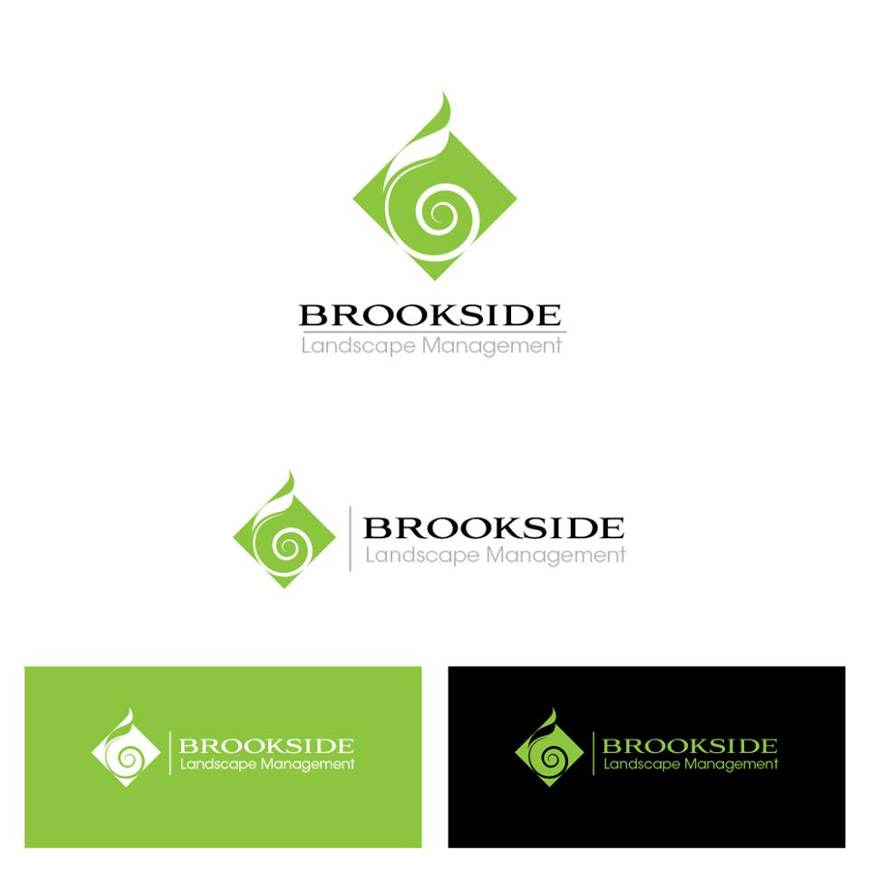 Logo Design by chinie05 - Entry No. 174 in the Logo Design Contest New Logo Design for Brookside Landscape Management.