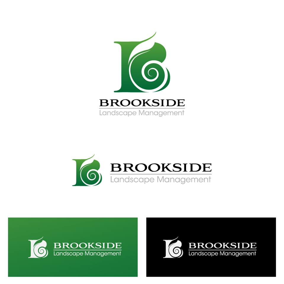 Logo Design by chinie05 - Entry No. 175 in the Logo Design Contest New Logo Design for Brookside Landscape Management.