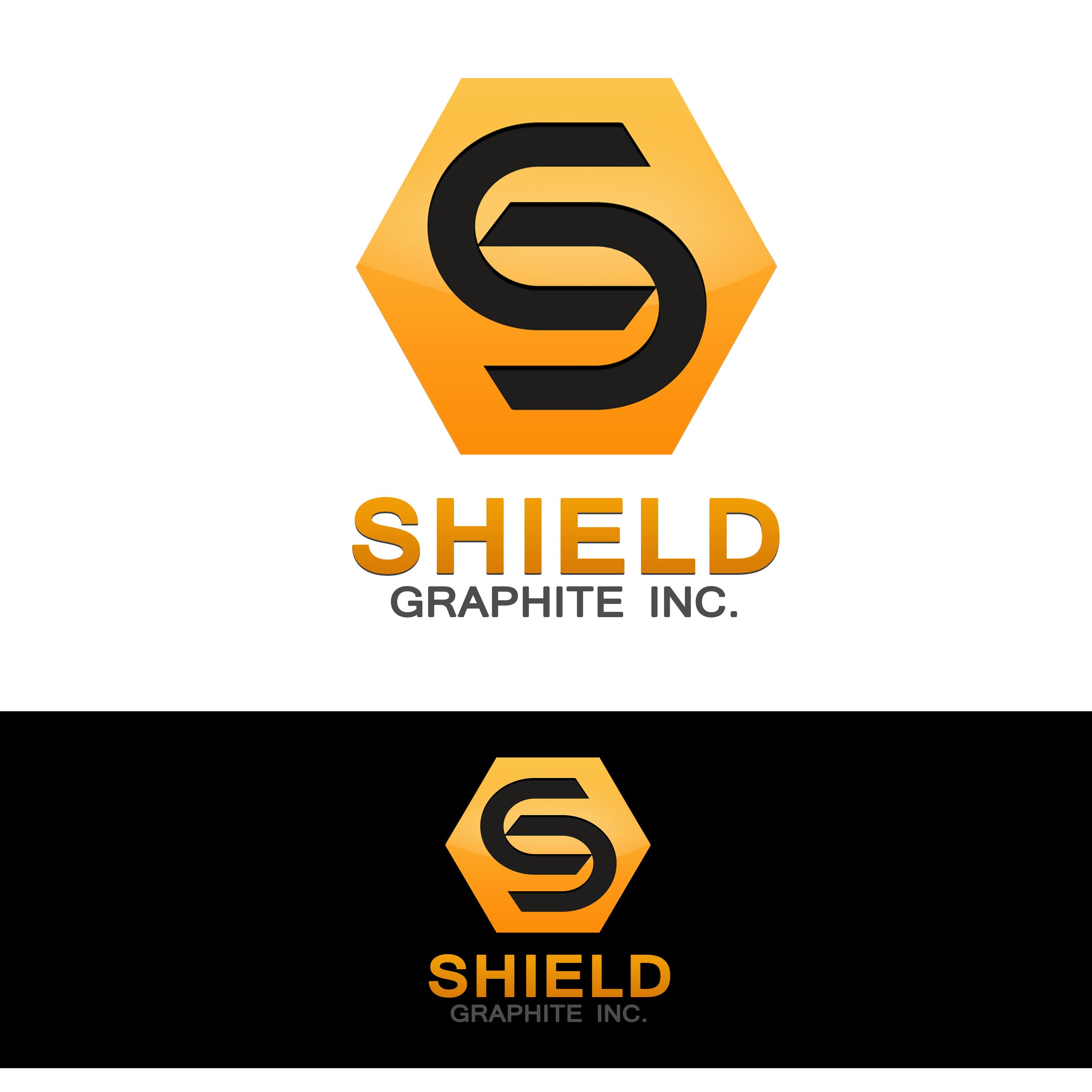 Logo Design by Allan Esclamado - Entry No. 118 in the Logo Design Contest Imaginative Logo Design for Shield Graphite Inc..