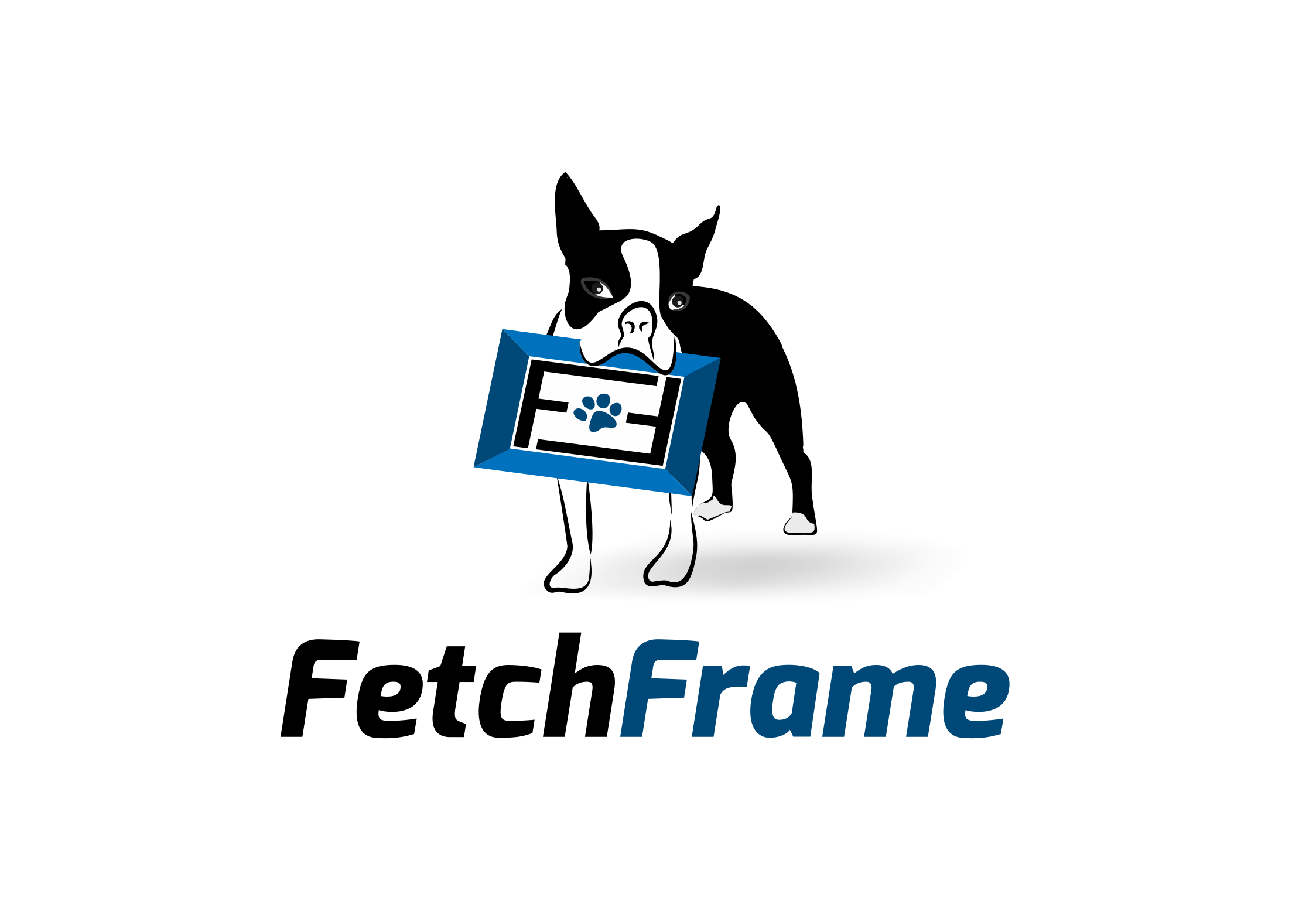 Logo Design by Muhammad Aslam - Entry No. 2 in the Logo Design Contest New Logo Design for FetchFrame.