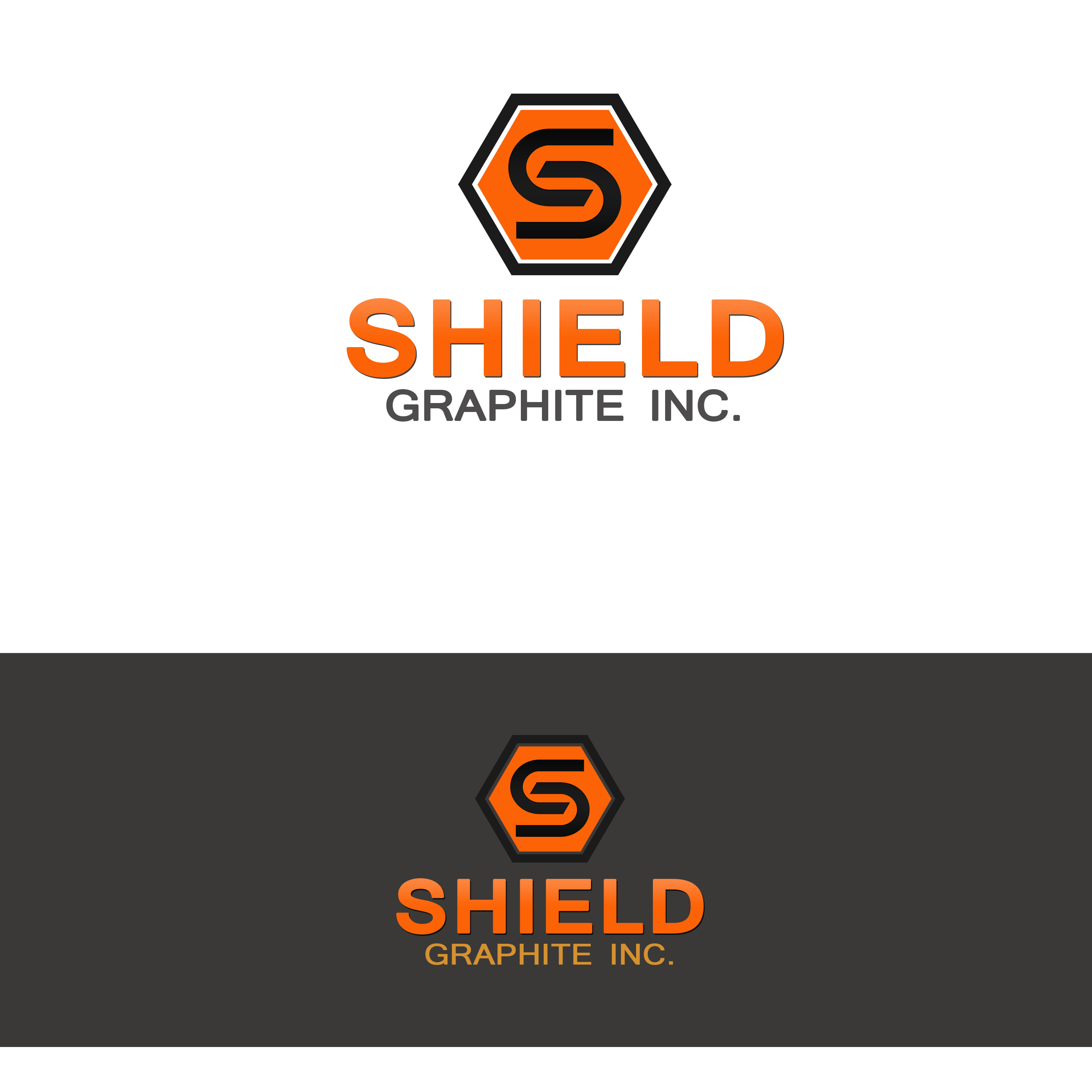 Logo Design by Allan Esclamado - Entry No. 119 in the Logo Design Contest Imaginative Logo Design for Shield Graphite Inc..
