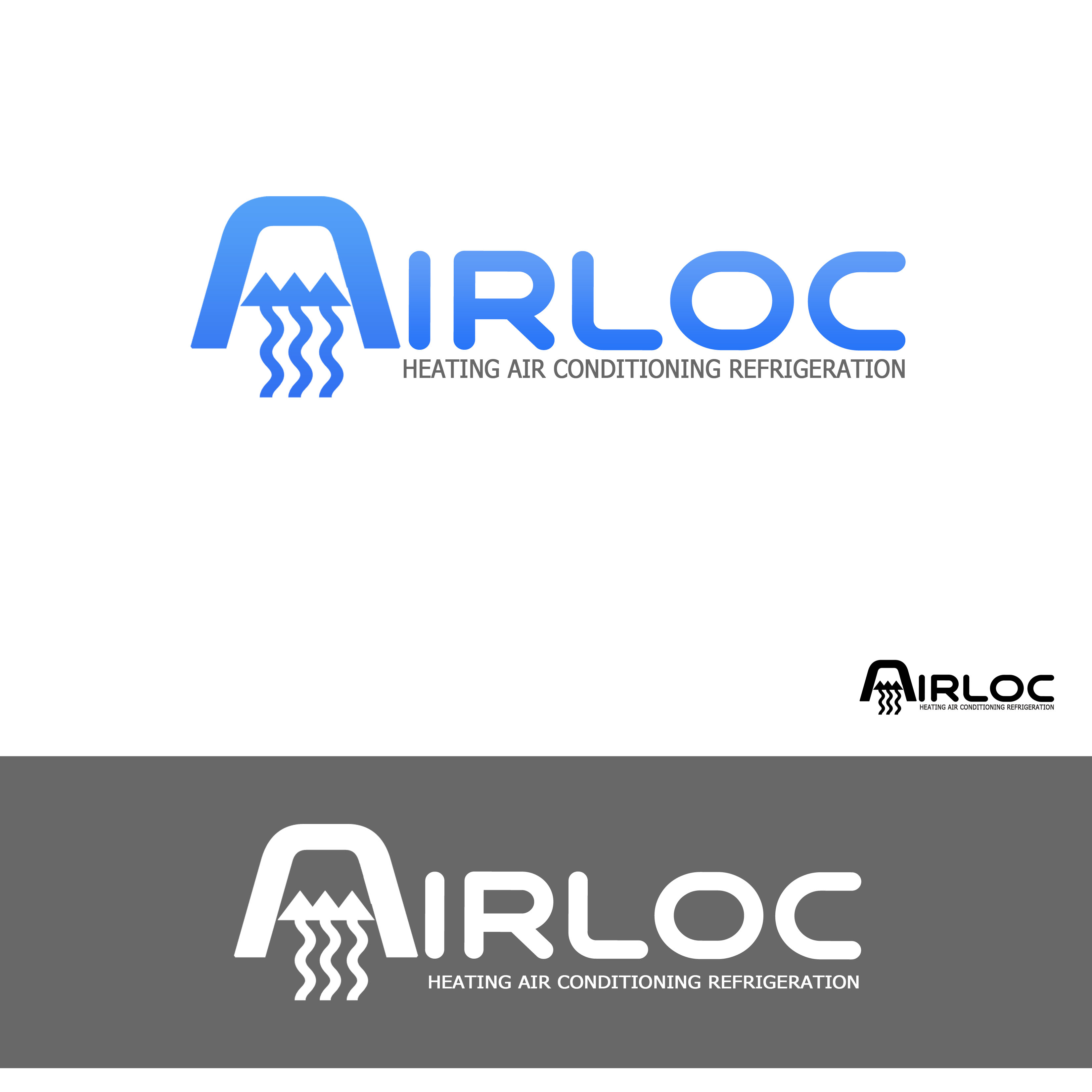 Logo Design by Allan Esclamado - Entry No. 64 in the Logo Design Contest Airloc Logo Design.