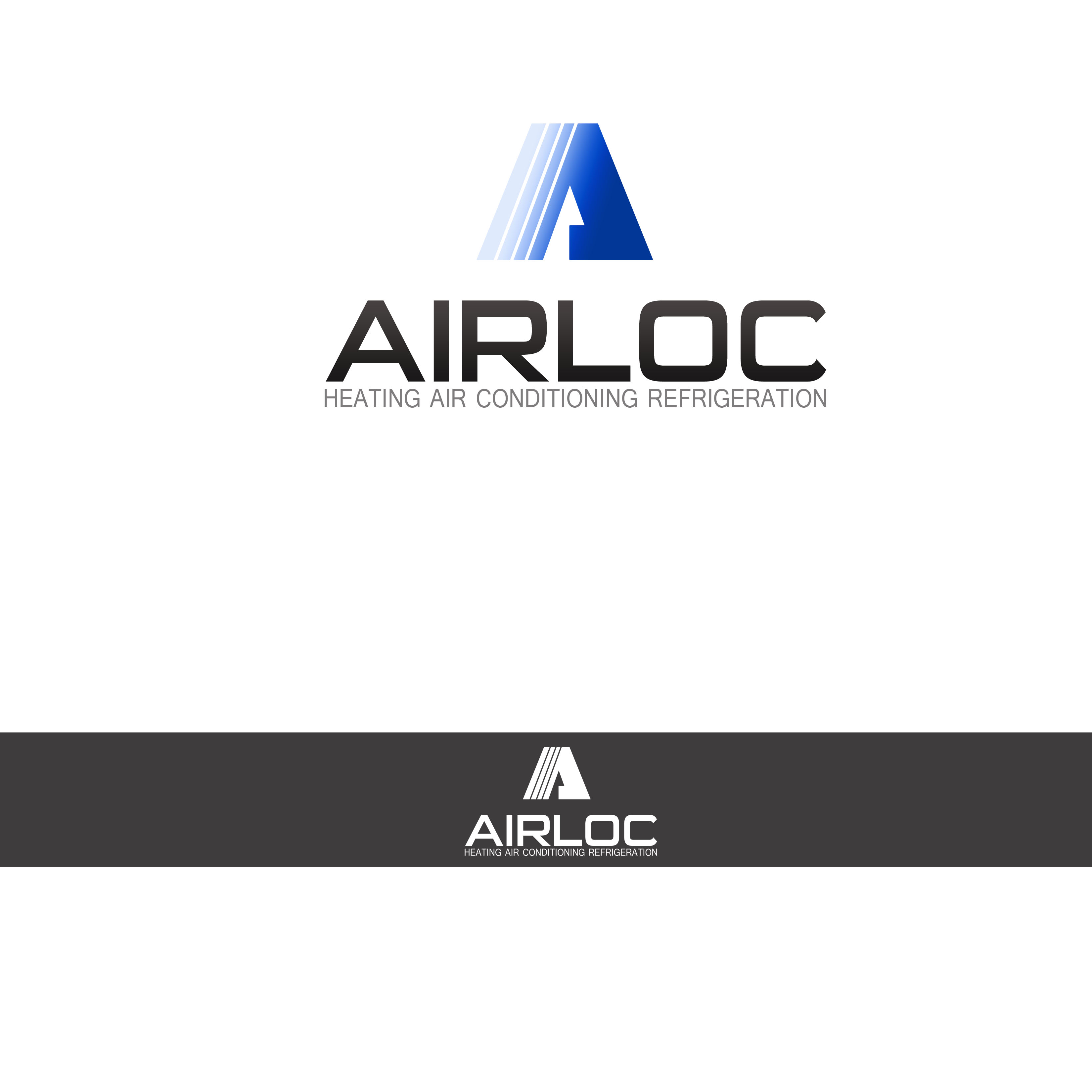 Logo Design by Allan Esclamado - Entry No. 67 in the Logo Design Contest Airloc Logo Design.
