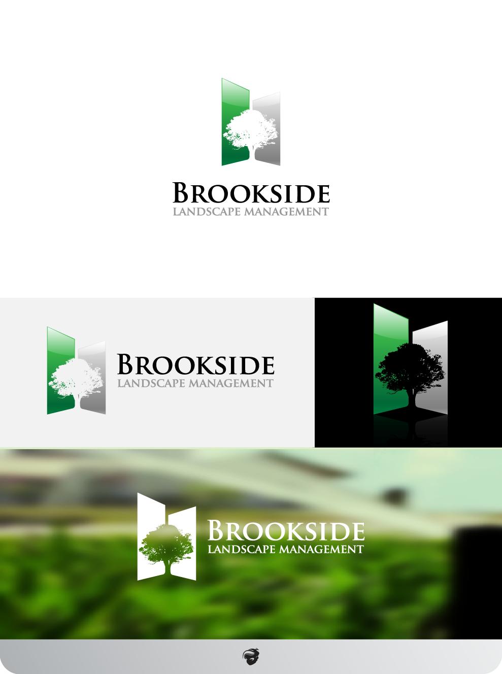 Logo Design by zesthar - Entry No. 180 in the Logo Design Contest New Logo Design for Brookside Landscape Management.