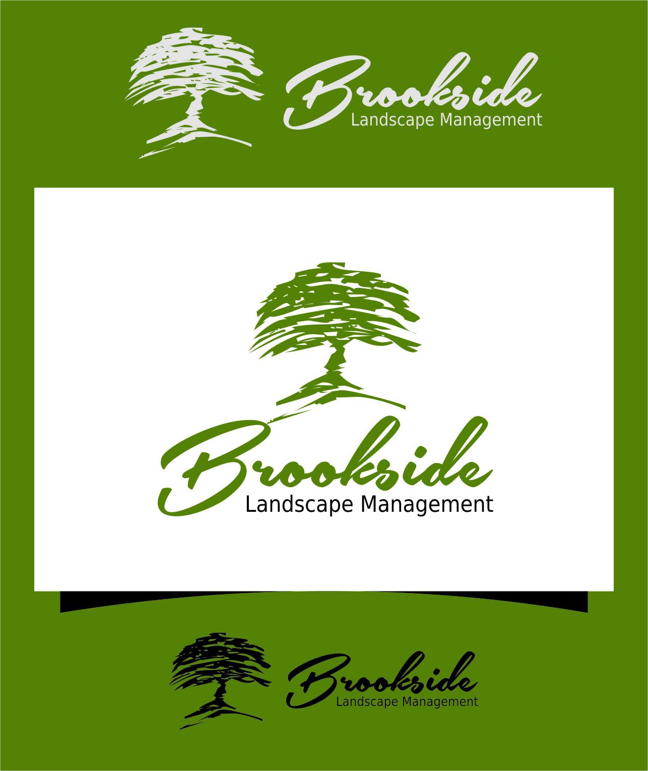 Logo Design by Ngepet_art - Entry No. 183 in the Logo Design Contest New Logo Design for Brookside Landscape Management.