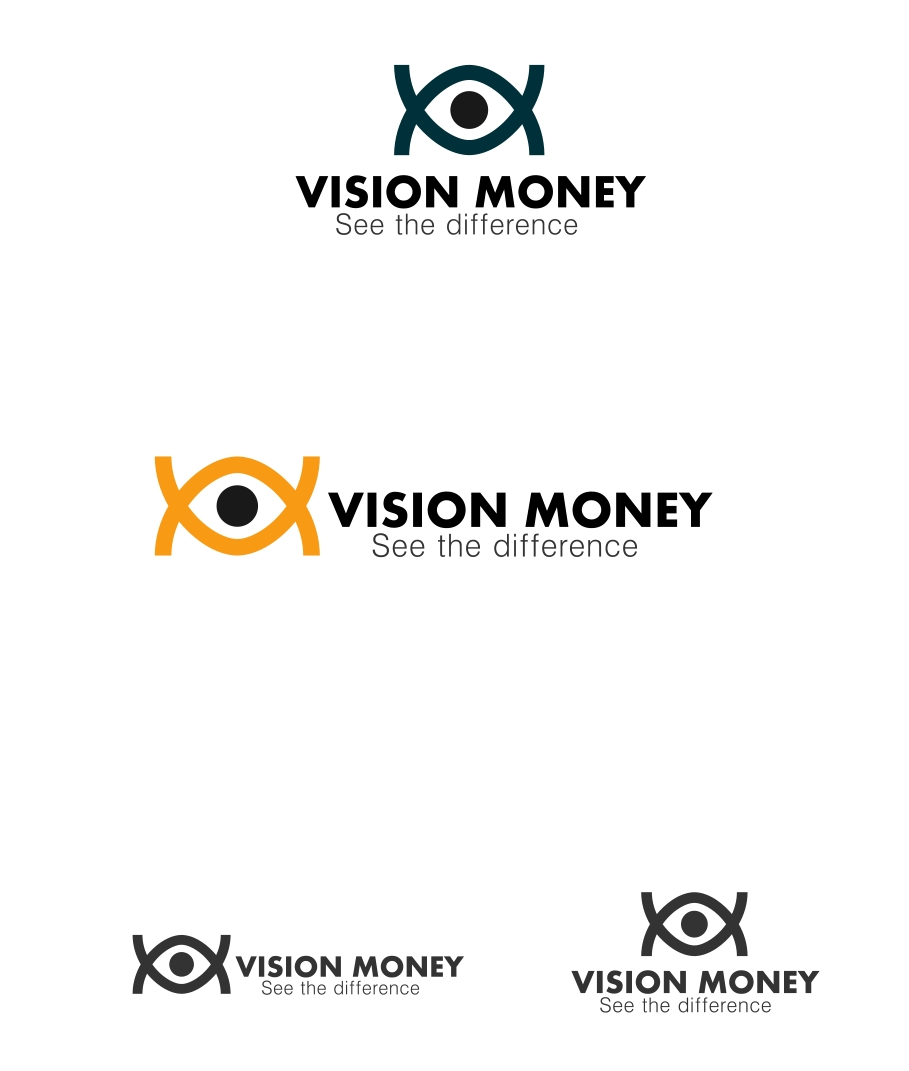 Logo Design by Private User - Entry No. 21 in the Logo Design Contest Captivating Logo Design for VISION MONEY.