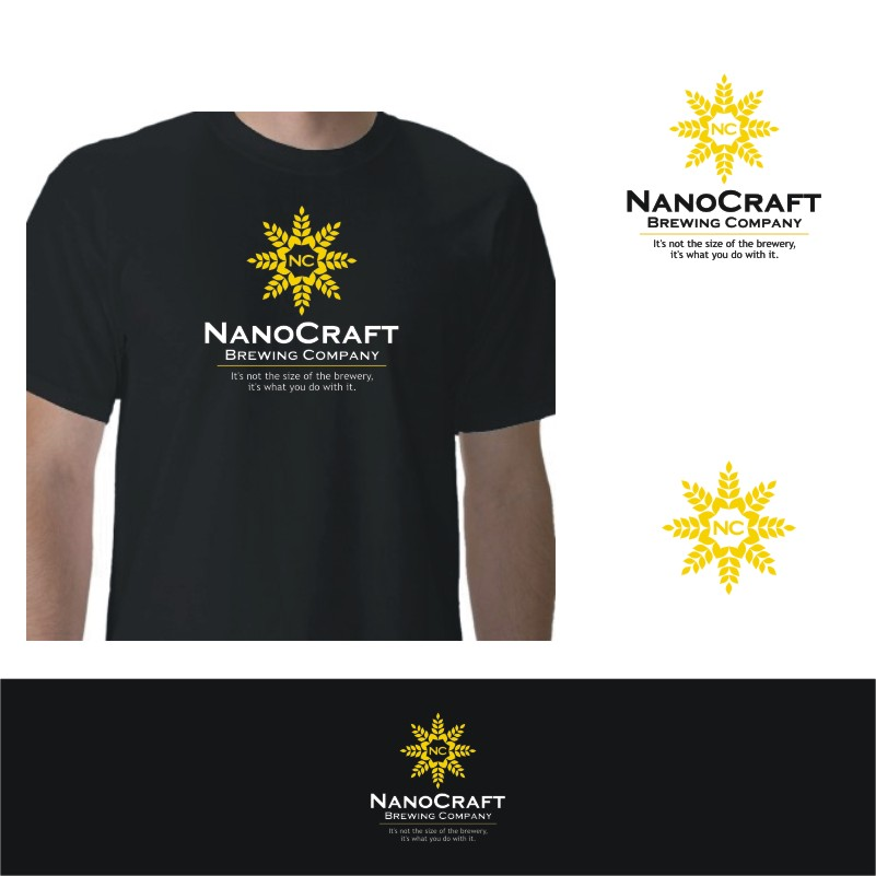 Logo Design by Private User - Entry No. 70 in the Logo Design Contest Unique Logo Design Wanted for NanoCraft Brewing Company.