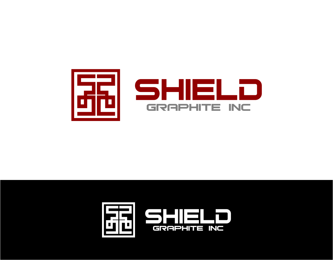 Logo Design by Agus Martoyo - Entry No. 125 in the Logo Design Contest Imaginative Logo Design for Shield Graphite Inc..