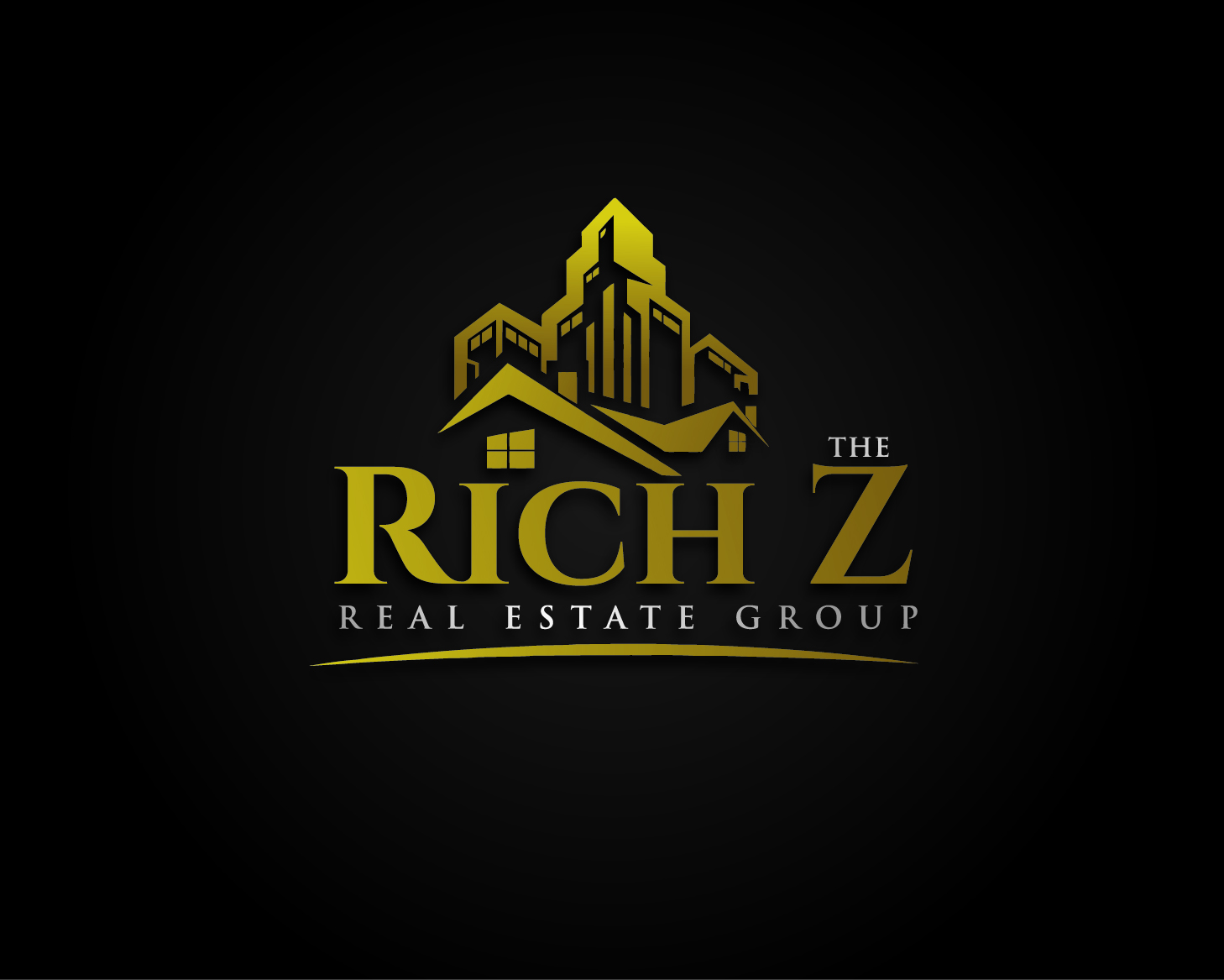 Logo Design by VENTSISLAV KOVACHEV - Entry No. 97 in the Logo Design Contest The Rich Z. Real Estate Group Logo Design.