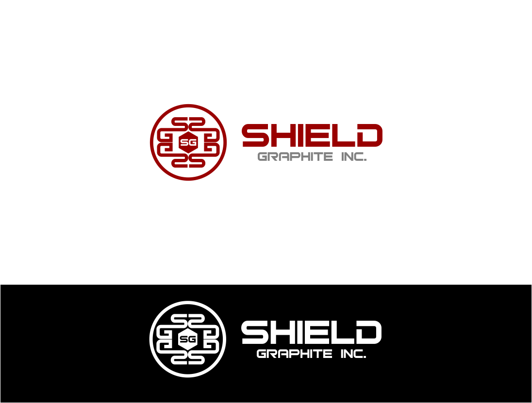 Logo Design by Agus Martoyo - Entry No. 126 in the Logo Design Contest Imaginative Logo Design for Shield Graphite Inc..