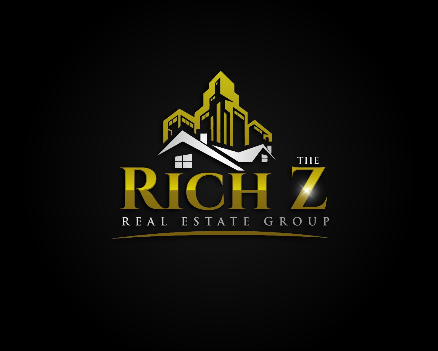 Logo Design by VENTSISLAV KOVACHEV - Entry No. 98 in the Logo Design Contest The Rich Z. Real Estate Group Logo Design.