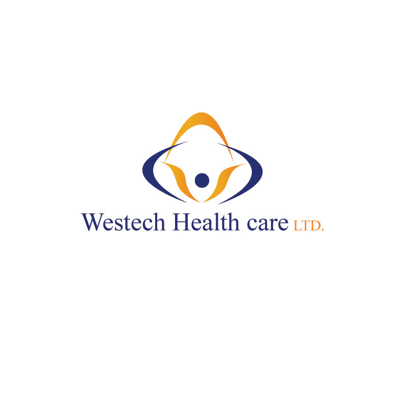 Logo Design by Private User - Entry No. 38 in the Logo Design Contest Creative Logo Design for Westech Health Care Ltd..