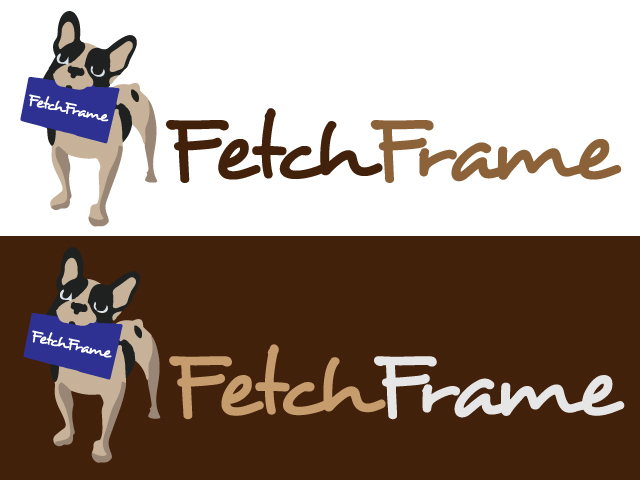 Logo Design by ronik.web - Entry No. 3 in the Logo Design Contest New Logo Design for FetchFrame.