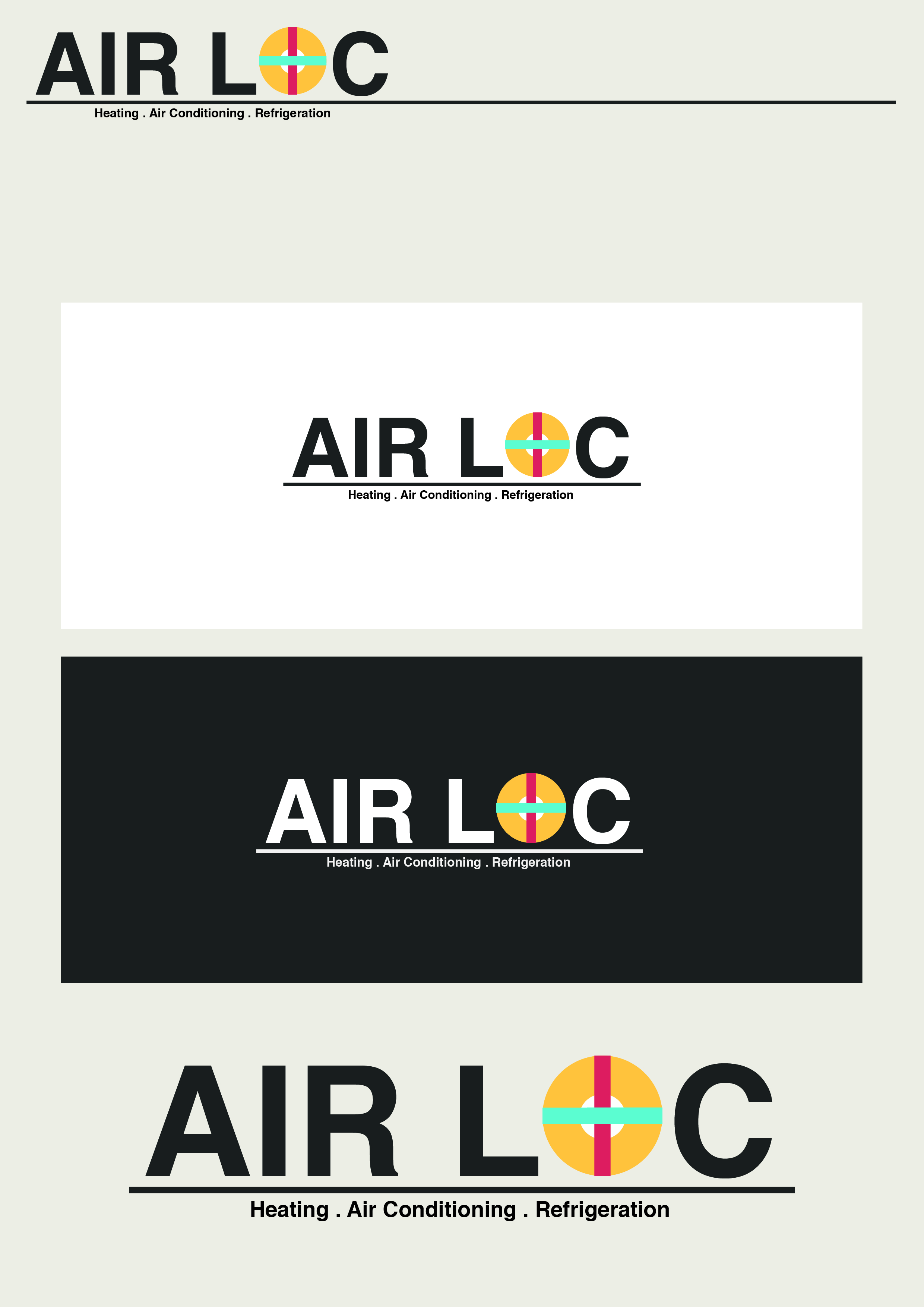 Logo Design by Arman Rostami - Entry No. 72 in the Logo Design Contest Airloc Logo Design.