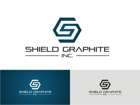 Logo Design by key - Entry No. 127 in the Logo Design Contest Imaginative Logo Design for Shield Graphite Inc..