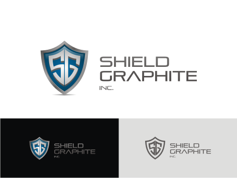 Logo Design by key - Entry No. 131 in the Logo Design Contest Imaginative Logo Design for Shield Graphite Inc..