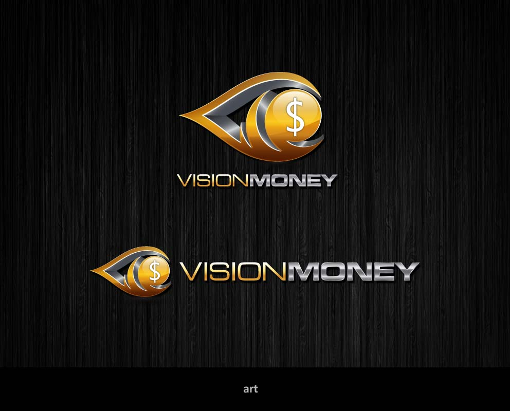 Logo Design by Puspita Wahyuni - Entry No. 25 in the Logo Design Contest Captivating Logo Design for VISION MONEY.