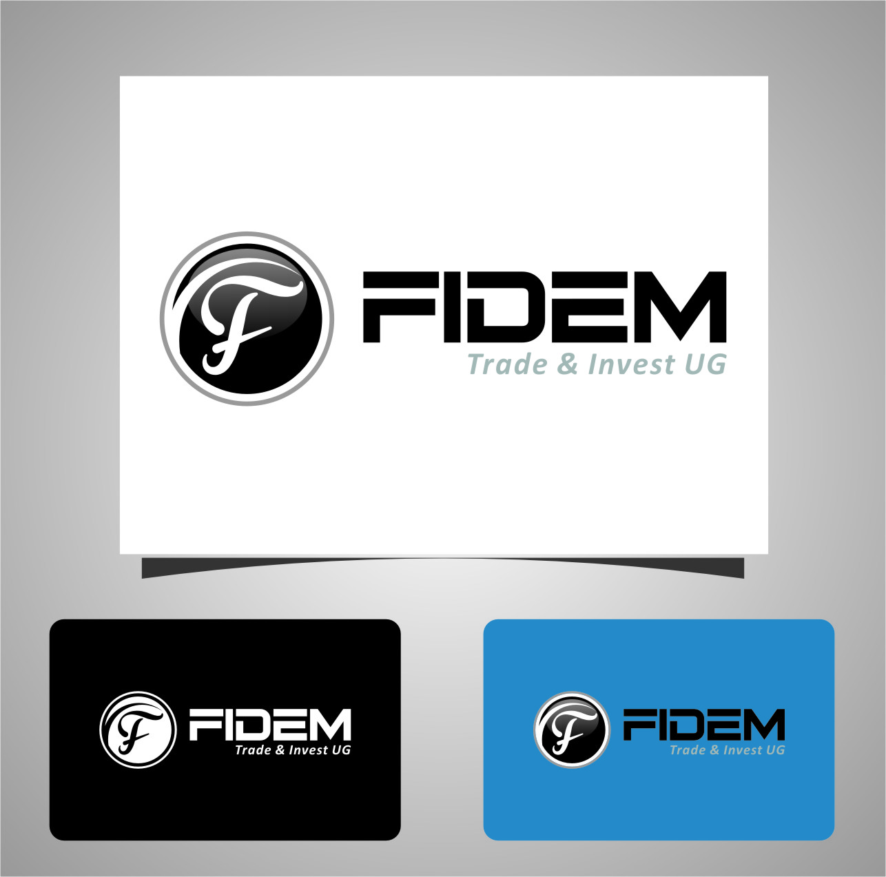Logo Design by RoSyid Rono-Rene On Java - Entry No. 766 in the Logo Design Contest Professional Logo Design for FIDEM Trade & Invest UG.